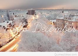 winter hello december 2016