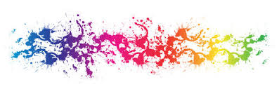 color and paint colorful water color splash background stock illustration