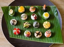 cuisine japonaise facile le temari sushi ou le figuratif dans la cuisine japonaise le manger