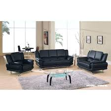 Dobson Sectional Sofa Modern Black Leather Sectional Sofa With Built In Light Baxton