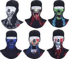 Halloween Motorcycle Costume Outdoor Balaclava Skull Face Mask Bike Ski Cycling Motorcycle