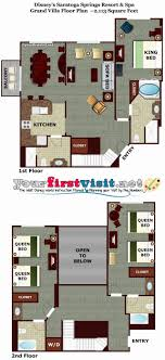 disney saratoga springs treehouse villas floor plan treehouse villa floor plan disney s saratoga springs resort spa