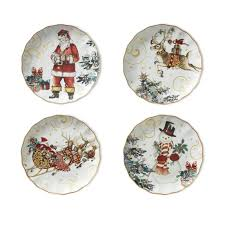 twas the before mixed dinner plates set of 4