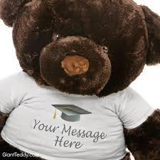 Personalized Graduation Teddy Bear Giant Teddy Blog Awesome Graduation Gifts From Giant Teddy