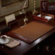 Brown Leather Desk Accessories Leather Desk Pads Desk Writing Pad Leather Desk Pad Desk