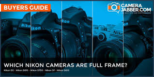 which nikon cameras are full frame fx format camera jabber