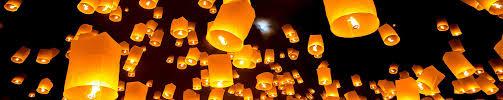 lantern kites release of sky lanterns