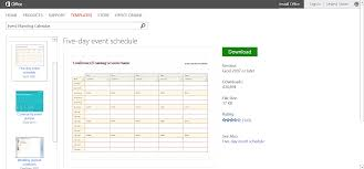 excel templates daily planner customizable calendar templates for microsoft office