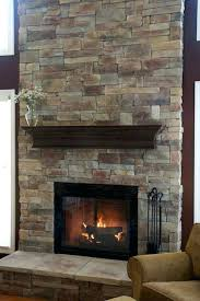 How To Reface A Fireplace by How To Cover A Fireplace With Stone Stone Refacing Gas Fireplace