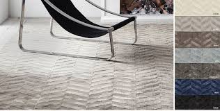 Cream And Blue Rug Contemporary Rugs Rh