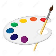 paint clipart colour palette pencil and in color paint clipart
