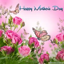 Mothers Day Flowers Mothers Day Cards Of Pink Flowers With Butterflies U2022 Elsoar
