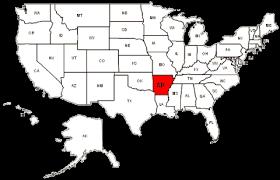 us map with arkansas arkansas maps and data myonlinemaps ar maps state