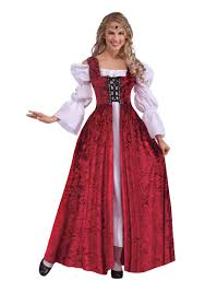 Nanny Halloween Costume Size Women U0027s Medieval Laced Gown