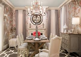 home design excellent wallpaper dining room ideas covering half