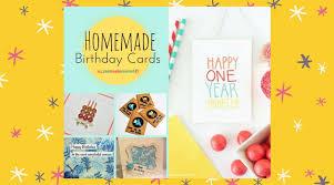 26 homemade birthday cards allfreepapercrafts com