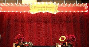 high quality 3x6m water wave wedding curtain backdrops
