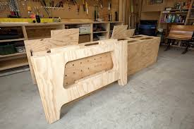 Woodworking Bench Plans Pdf by The Ultimate Work Bench Thisiscarpentry