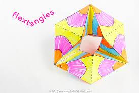 paper toy flextangles babble dabble do
