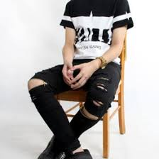 Ripped Knee Jeans Mens Mens Black Ripped Knee Jeans Suppliers Best Mens Black Ripped