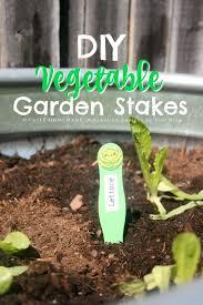 my life homemade diy vegetable garden stakes