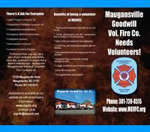 volunteer brochure template recruitment material gallery