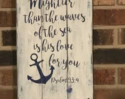 Popular Items For Love Anchors - items similar to anchor i love you more than all the waves in the