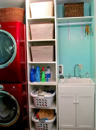laundry room cabinets with hanging rod home design ideas