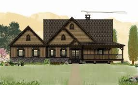 Wrap Around Porch Floor Plans House Plans Walkout Basement Wrap Around Porch New Rustic House