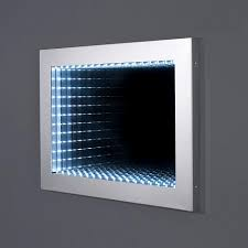 moods galaxy designer illuminated infinity 3d bathroom mirror