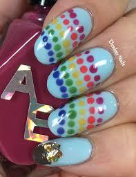 ehmkay nails st patrick u0027s day nail art rainbow with a pot of