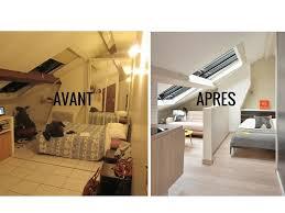 Relooking Salon Avant Apres Avant Après Optimiser L U0027espace Dans Un Studio Sous Les Combles