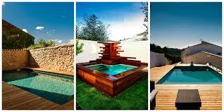 piscine petite taille les avantages de la piscine bois bluewood