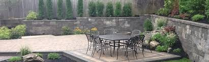 Long Island Patio Backyard Patios Decks U0026 Hardscapes Design Kito Nursery Services Ny