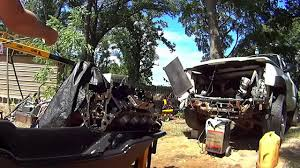 backyard 5 3 lm7 engine block u0026 oil galley cleaning junkyard 5 3