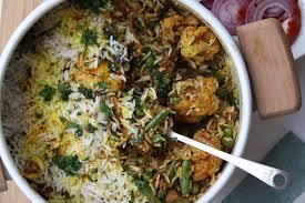 biryani cuisine vegetable dum biryani indian recipes maunika gowardhan