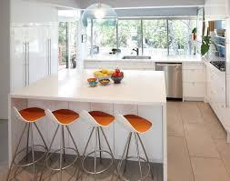 modern orange bar stools bar stools for white kitchen morespoons 797e52a18d65