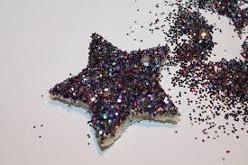 bread ornaments w glitter inspire create