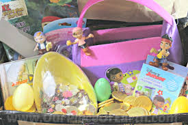 diy disney junior easter basket treasure chest our piece of