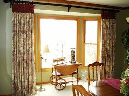 bedroom bay window curtain ideas best house design interesting