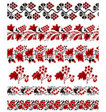 ukraine pattern vector small pattern ukrainian embroidery ornament vector ukraine