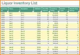 Bar Liquor Inventory Spreadsheet 9 Bar Inventory Spreadsheet Balance Spreadsheet