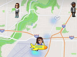 snapchat shows people where you are and what you u0027re doing the