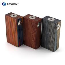 100 authentic mechanical mod 18650 wooden box mod wooden v3 by