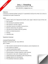 Example Of A Nursing Resume by Download Lpn Sample Resume Haadyaooverbayresort Com