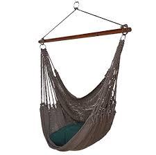jumbo caribbean hammock chair with footrest 55 inch soft spun
