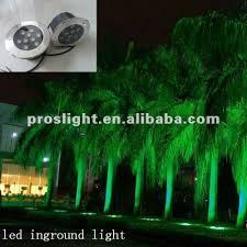 outdoor illumination 9w ip68 multi color led landscape light led