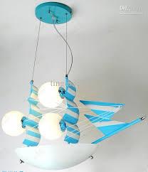 Children Bedroom Lighting Genuine New Blue Sailing Children Room Chandelier Lighting Ls