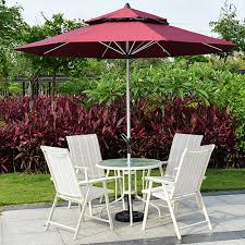 Shop Outdoor Furniture by Outdoor Furniture In The Column Umbrella Shade Leisure Courtyard