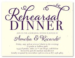 rehersal dinner invitations unique rehearsal dinner invitations on seeded paper at the touch